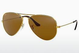 Sonnenbrille Ray-Ban AVIATOR LARGE METAL (RB3025 001/33) - Gold