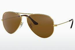 Sonnenbrille Ray-Ban AVIATOR LARGE METAL (RB3025 001/57) - Gold