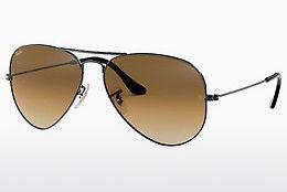Sonnenbrille Ray-Ban AVIATOR LARGE METAL (RB3025 004/51) - Grau