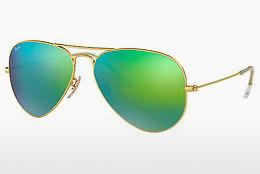 Sonnenbrille Ray-Ban AVIATOR LARGE METAL (RB3025 112/19) - Gold