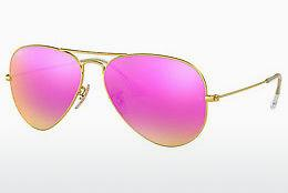 Sonnenbrille Ray-Ban AVIATOR LARGE METAL (RB3025 112/4T) - Gold