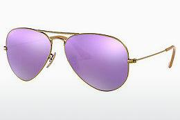 Sonnenbrille Ray-Ban AVIATOR LARGE METAL (RB3025 167/1R) - Braun