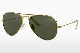 Sonnenbrille Ray-Ban AVIATOR LARGE METAL (RB3025 L0205) - Gold