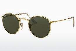 Sonnenbrille Ray-Ban ROUND METAL (RB3447 001) - Gold