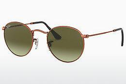 Sonnenbrille Ray-Ban ROUND METAL (RB3447 9002A6) - Braun