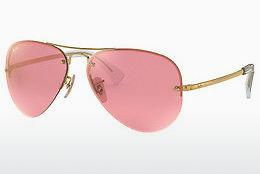Sonnenbrille Ray-Ban RB3449 001/E4 - Gold