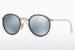 Sonnenbrille Ray-Ban ROUND (RB3517 001/30) - Gold