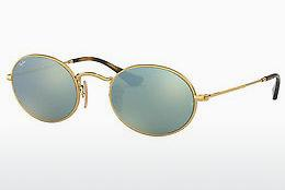 Sonnenbrille Ray-Ban Oval (RB3547N 001/30) - Gold