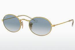 Sonnenbrille Ray-Ban OVAL (RB3547N 001/3F) - Gold