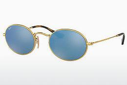 Sonnenbrille Ray-Ban Oval (RB3547N 001/9O) - Gold