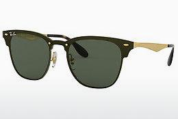 Sonnenbrille Ray-Ban Blaze Clubmaster (RB3576N 043/71) - Gold