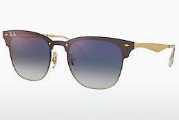 Sonnenbrille Ray-Ban BLAZE CLUBMASTER (RB3576N 043/X0) - Gold