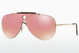 Sonnenbrille Ray-Ban Blaze Shooter (RB3581N 001/E4) - Gold