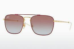 Sonnenbrille Ray-Ban RB3588 9060I8 - Gold, Rot