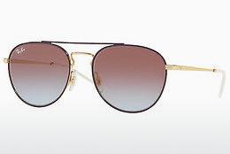 Sonnenbrille Ray-Ban RB3589 9059I8 - Gold, Purpur