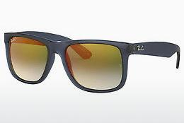 Sonnenbrille Ray-Ban JUSTIN (RB4165 6341T0) - Transparent, Blau
