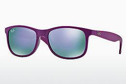 Sonnenbrille Ray-Ban ANDY (RB4202 60714V) - Purpur