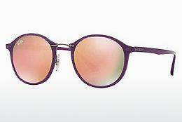 Sonnenbrille Ray-Ban Round Ii Light Ray (RB4242 60342Y) - Purpur