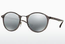 Sonnenbrille Ray-Ban Round Ii Light Ray (RB4242 620088) - Grau