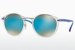 Sonnenbrille Ray-Ban Round Ii Light Ray (RB4242 6289B7) - Transparent