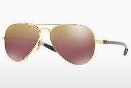 Sonnenbrille Ray-Ban RB8317CH 001/6B - Gold