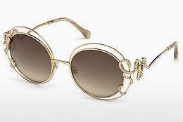 roberto cavalli Roberto Cavalli Damen Sonnenbrille » RC1054«, goldfarben, 28G - gold