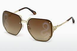 roberto cavalli Roberto Cavalli Damen Sonnenbrille » RC1057«, goldfarben, 32G - gold/braun