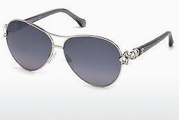 Sonnenbrille Roberto Cavalli RC1078 16C - Silber, Shiny, Grey