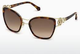 Just Cavalli Damen Sonnenbrille » JC830S«, schwarz, 02B - schwarz/grau
