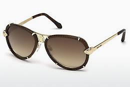 roberto cavalli Roberto Cavalli Damen Sonnenbrille » RC1031«, goldfarben, 28G - gold