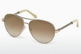 roberto cavalli Roberto Cavalli Damen Sonnenbrille » RC1060«, goldfarben, 32G - gold/braun