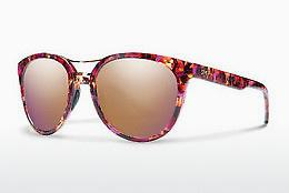 Sonnenbrille Smith BRIDGETOWN WJ9/FN - Purpur, Braun, Havanna