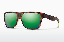 Sonnenbrille Smith LOWDOWN/N A84/X8 - Gelb, Braun, Havanna