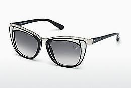 Swarovski Damen Sonnenbrille » SK0157«, blau, 87W - blau/blau