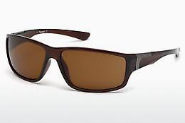 Timberland Herren Sonnenbrille » TB9155«, weiß, 26H - weiß/braun