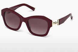 Sonnenbrille Tod's TO0195 69T - Burgund, Bordeaux, Shiny