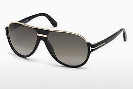 Sonnenbrille Tom Ford Dimitry (FT0334 01P) - Schwarz, Shiny