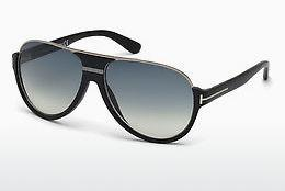 Sonnenbrille Tom Ford Dimitry (FT0334 02W) - Schwarz, Matt