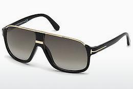 Sonnenbrille Tom Ford Eliott (FT0335 01P) - Schwarz, Shiny