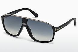 Sonnenbrille Tom Ford Eliott (FT0335 02W) - Schwarz, Matt
