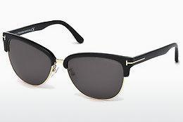 Sonnenbrille Tom Ford Fany (FT0368 01A) - Schwarz, Shiny