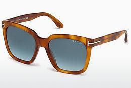 Tom Ford Damen Sonnenbrille » FT0579«, gelb, 53K - gelb/braun