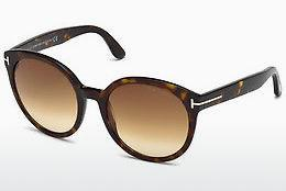 Sonnenbrille Tom Ford Philippa (FT0503 52F) - Braun, Dark, Havana