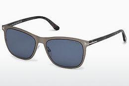 Sonnenbrille Tom Ford Alasdhair (FT0526 15V) - Grau, Shiny, Matt