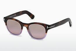 Tom Ford Damen Sonnenbrille » FT0619«, braun, 52P - braun/grün