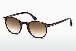 Sonnenbrille Tom Ford Andrea (FT0539 52F) - Braun, Dark, Havana