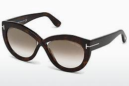 Sonnenbrille Tom Ford FT0577 52G - Braun, Dark, Havana