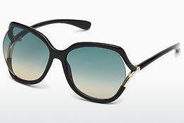 Tom Ford Herren Sonnenbrille » FT0635«, schwarz, 01A - schwarz/grau