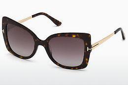 Tom Ford Damen Sonnenbrille » FT0610«, gelb, 53F - gelb/braun