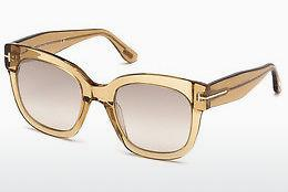 Tom Ford Damen Sonnenbrille » FT0614«, grün, 98K - grün/braun
